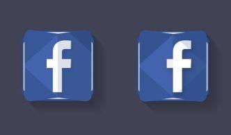 Creative Facebook Logo Icon PSD