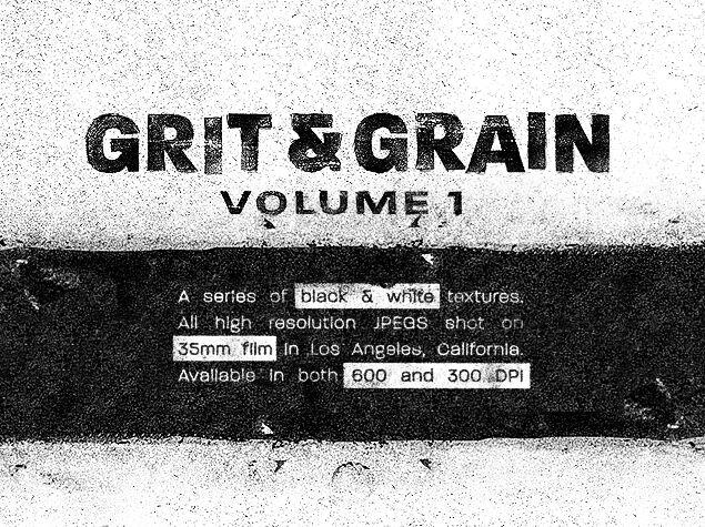 Grit & Grain Texture Pack