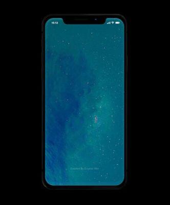 Minimal Standing iPhone X PSD Mock-up