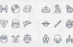 24 Star Wars Icons