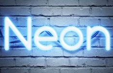 Neon Text Effect For Photoshop
