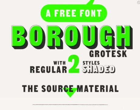 Free Borough Grotesk Font - TitanUI