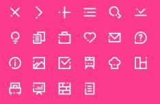 22 Web App Icons SVG