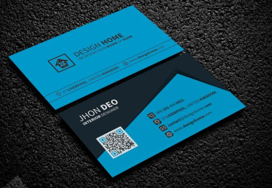 free elegant corporate business card psd template front back titanui