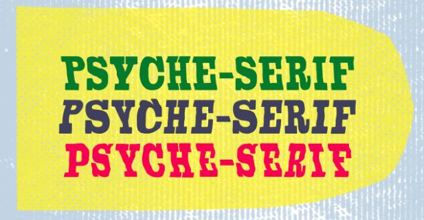 Psyche Serif Typeface