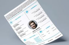 Clean Personal Resume / CV Template
