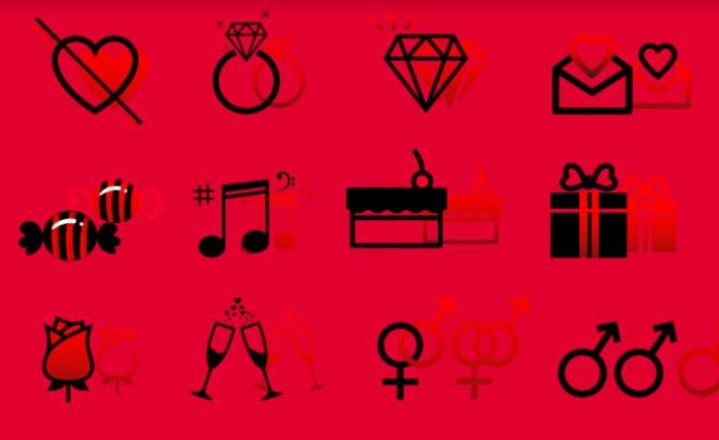 14 Valentine's Day Vector Icons