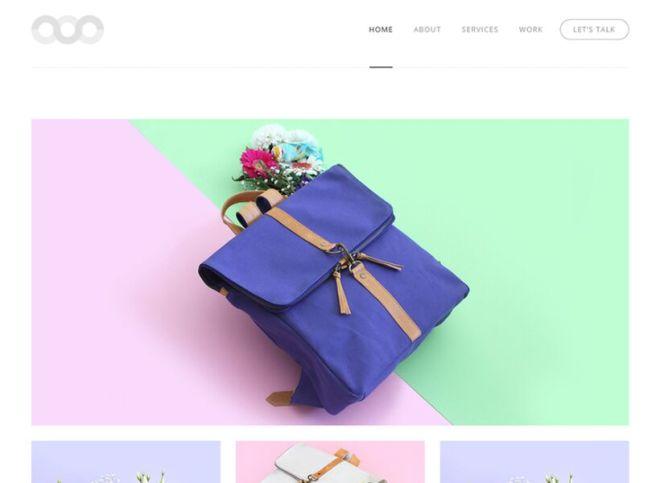 Simplicity Web Template PSD