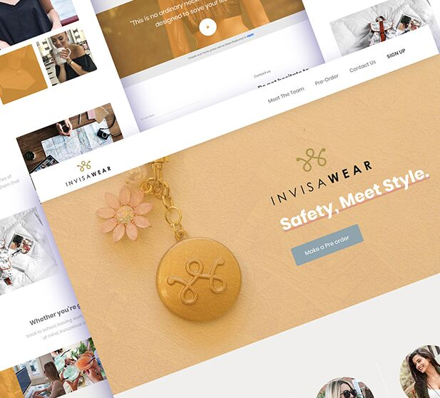 Fashion Product Landing Page PSD Template