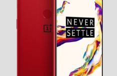 Standing OnePlus 5T PSD Mockup