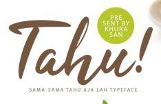Tahu Handwritten Script Font