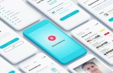 Telemedicine App UI Kit For Photoshop