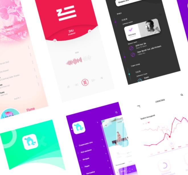 Muse - Flat Mobile UI Kit