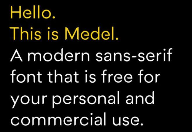 Medel Modern Font