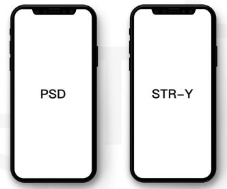 Minimal Blank iPhone X PSD Mockup
