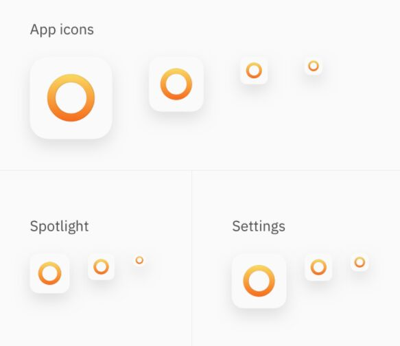 iOS App Icon Template Sketch