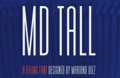 MD Tall Typeface