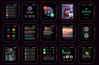 Apple Watch UI Kit For XD