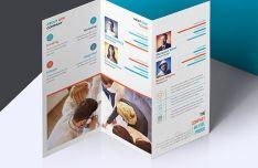 Elegant Tri-fold Brochure Photoshop Mockup