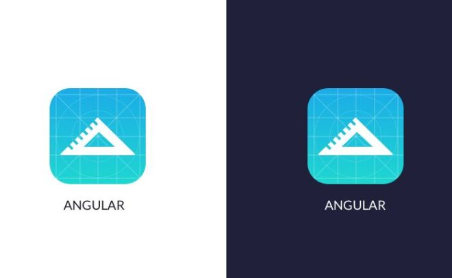 Rounded App Icon Template (PSD+Sketch)