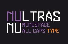 NULTRAS Monospace Typeface-min