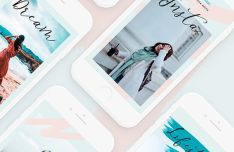 Lifestyle Instagram Post & Story Templates PSD-min