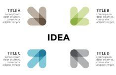 Idea Arrows Infographic Vector-min