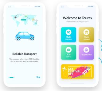 Tourex Modern UI Kit For Sketch and XD-min