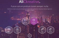 Modern Portfolio Web Template For Photoshop-min