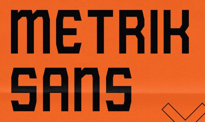 METRIK SANS Font-min