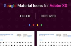 Google Material Icons For Adobe XD-min