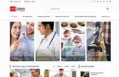 Simple Clean Medical & Health Care Web Template PSD-min