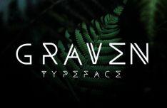 Graven Creative Font