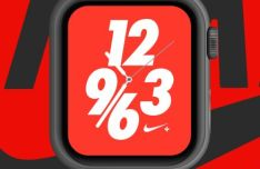 Apple Watch Nike+ Mockup For Sketch