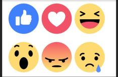 Facebook Reacts Vector