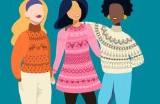 10 Folk Sweater Photoshop Brushes