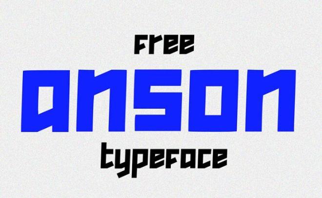ANSON Typeface