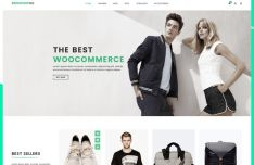 Clean Web Template For Fashion E-commerce Website