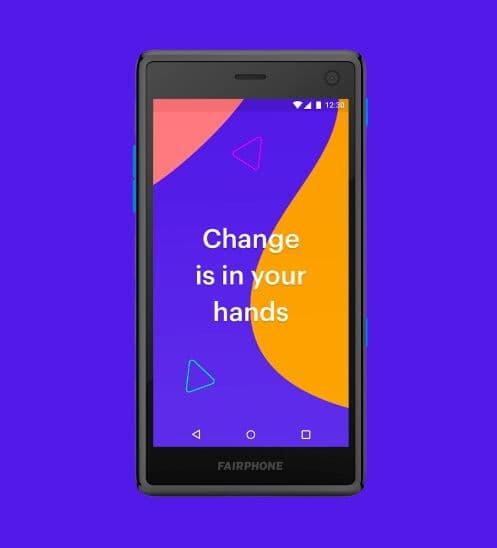 Fairphone 2 PSD Mockup