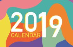 Hipster Calendar 2019 PDF