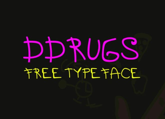 DDRUGS Cute Typeface