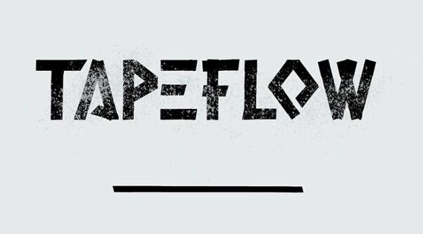 TAPE FLOW Typeface