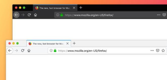 Firefox Browser Sketch Mockup