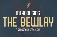 The Bewlay Sans Serif Font