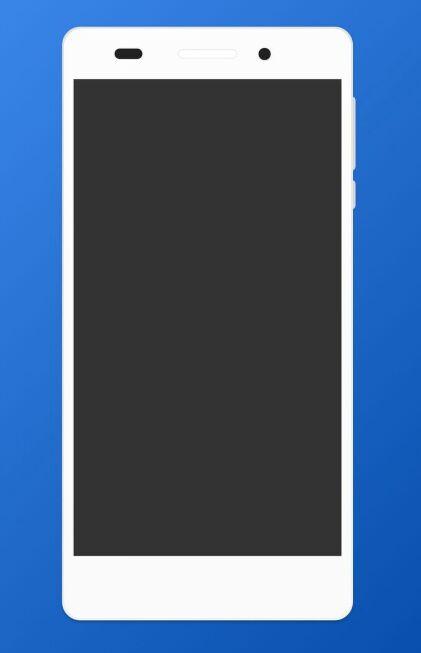 Flat Huawei CAM-L03 Mockup For XD