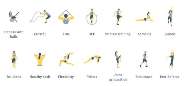 14 Minimal Sports Icons SVG