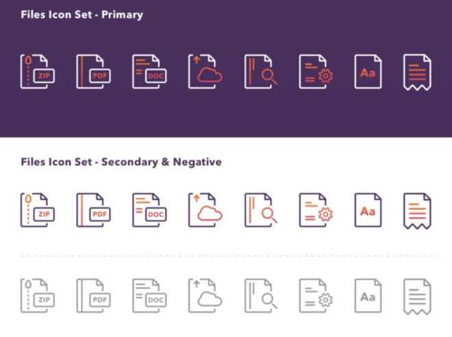 File Type Icon Set For Sketch App