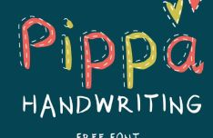 Pippa Handwriting Typeface