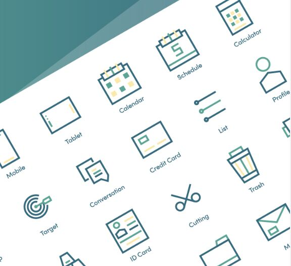 24 Business & Financial Vector Icons