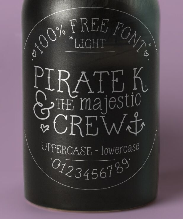 Pirate K Old Letter Typeface